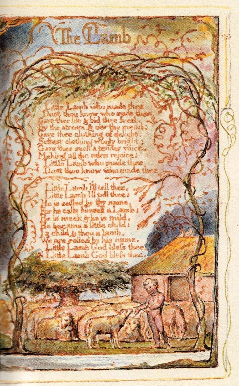 The Lamb - William Blake | Querido Bestiário