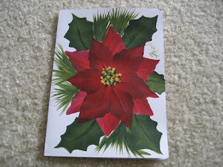 One Stroke Painting Christmas Cards