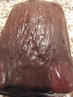 Baking And Mistaking Chocolate Covered Marble Pound Cake