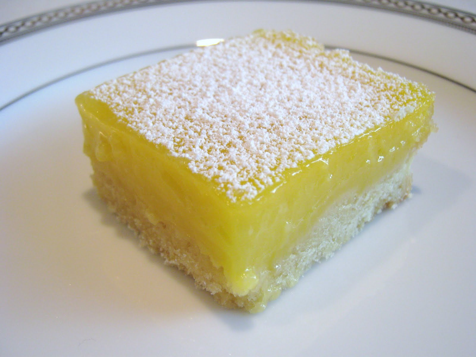 Lemon Bars With Lemon Supreme Cake Mix