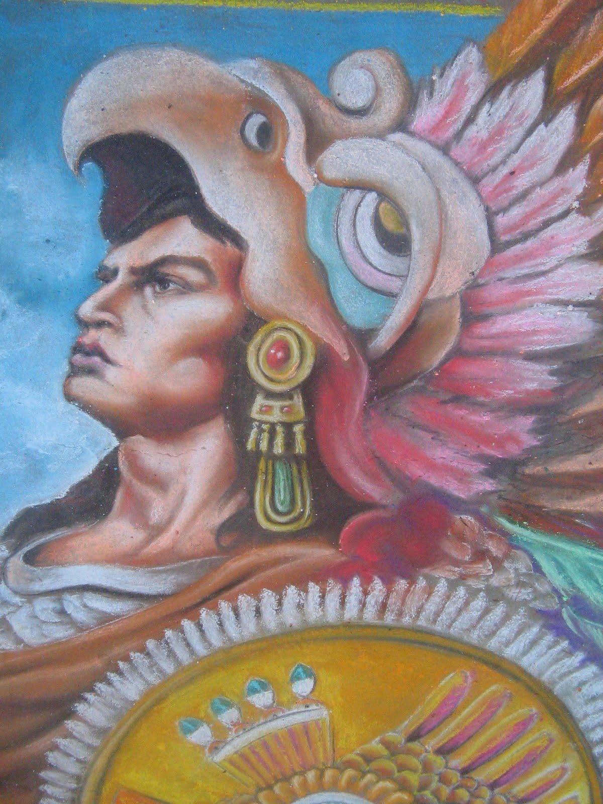 The Legendary Emperor Azteco L Original Painting Of Jesus Helguera