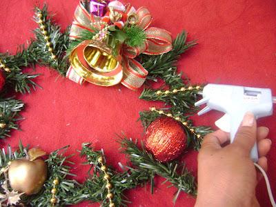 Navidad: Corona para puerta