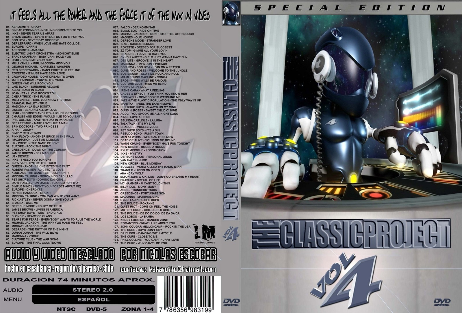 Radioteka Mix Chile...: The Classic Project 4 Mp3