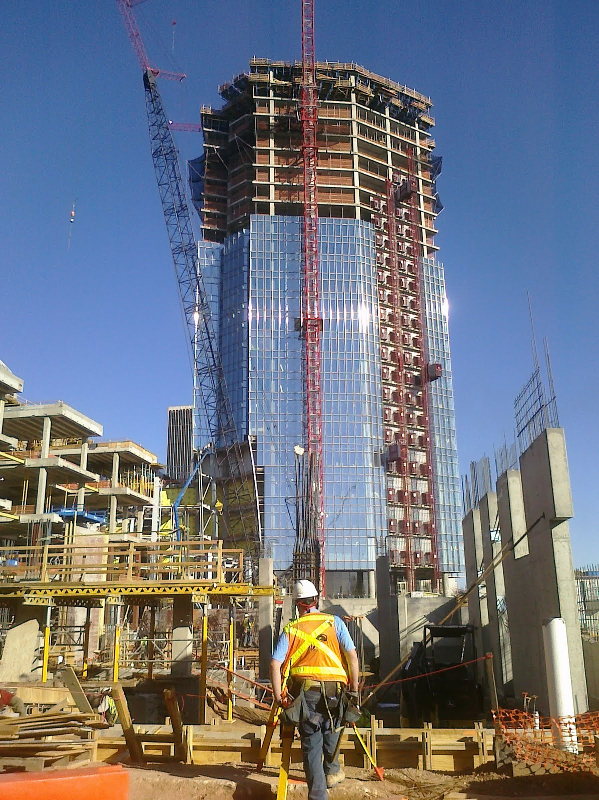 Okc Devon Tower Construction Construction Progress Of
