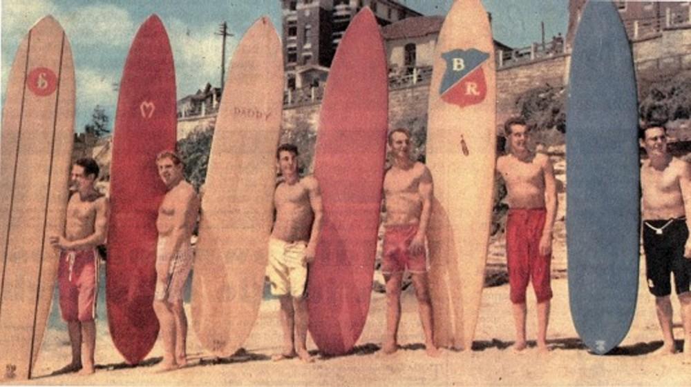 Davidplattsurfboardrestorations Surfing By Midget Farrelly