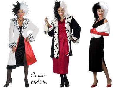 En annan lätt utklädnad är att klä ut sig till Cruella DeVille. Allt man  egentligen behöver är en svart och en vit hårsprayburk. f755bef865424