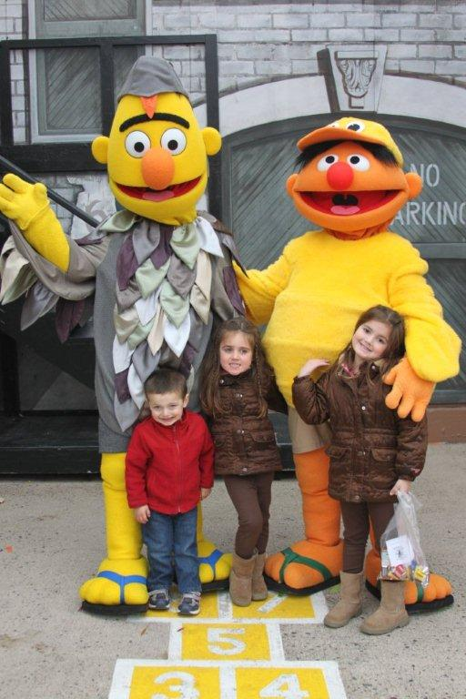 The Marinello Family Sesame Place Halloween Spooktacular