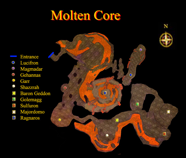 how to get into molten core