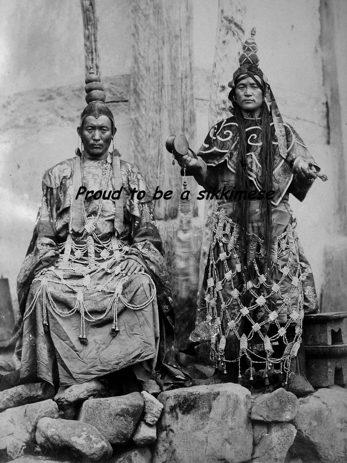 Proud To Be A Sikkimese: Rare Photographs Of People Of Old