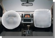 Nissan D40 Navara air bag