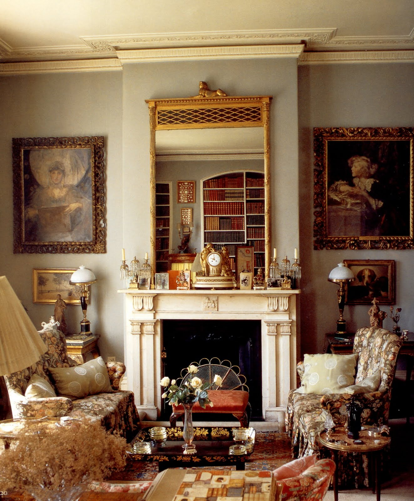 British Apartments: FOR PILAR~: Lady Diana Cooper's Apartment (shot By Derry