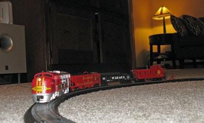Brimful Curiosities: Sante Fe Flyer Train Set by Bachmann ...