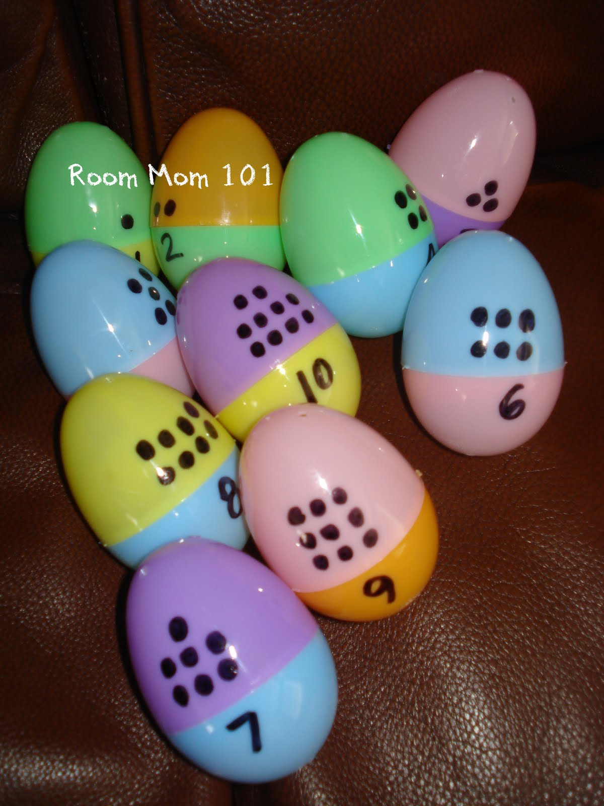 Room Mom 101 Easter Egg Matching Activity