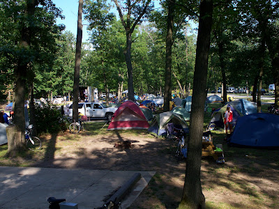 Grand Haven Campground >> Dirk's Sea to Sea: Week Seven: Madison Wisconsin to Grand Rapids Michigan