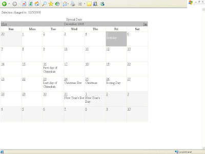 ASPNET Code Book  How To Create a schedule using aspnet Calendar