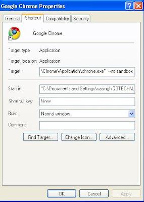 How To Resolve The Google Chrome Error