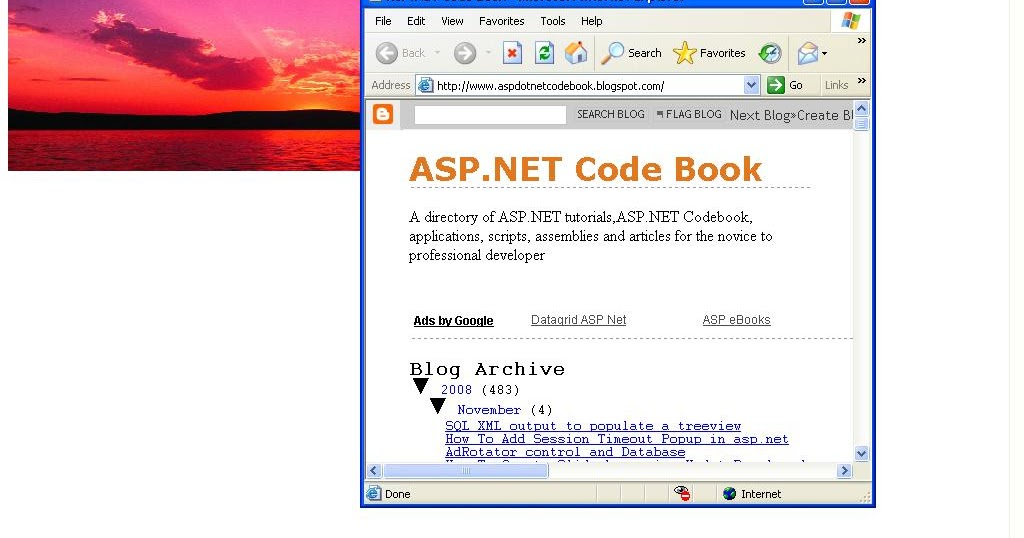 Asp.net Code Book