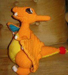 Crochet Patterns Galore - Mega Charizard Y (Pokemon) | 263x240