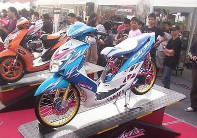 Top modifikasi mio soul 2012