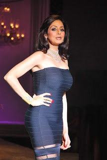 Sridevi mesmerises at HDIL India Couture Week 2009
