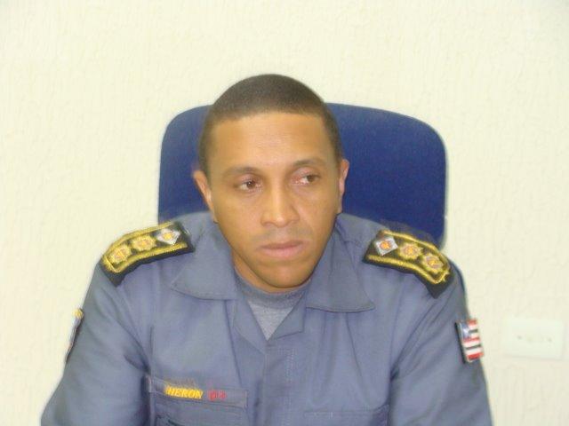 Resultado de imagem para coronel Heron Santos