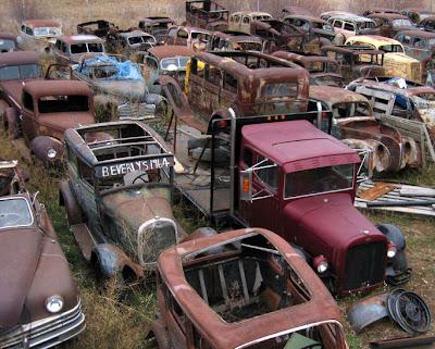 Carlisle Auto Salvage >> ANTIQUE CAR JUNKYARDS   ANTIQUES CENTER