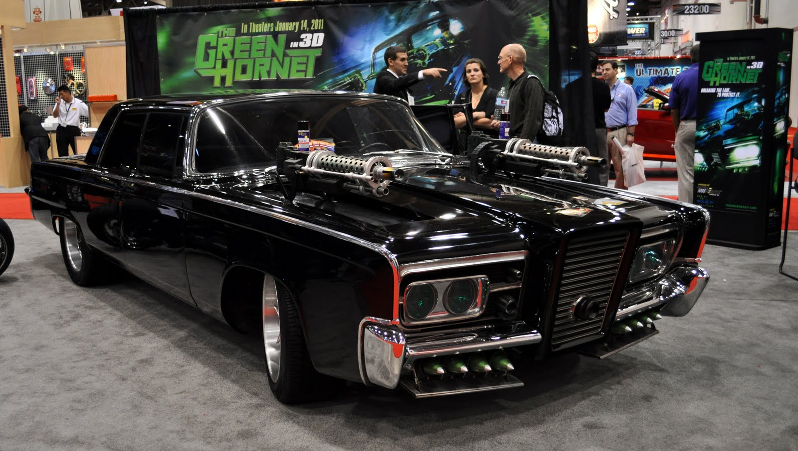 Just A Car Guy: Black Beauty from the new Green Hornet movie. what it looks like on the inside too