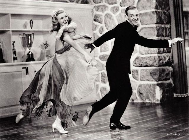 Seeing Sepia Astaire And Rogers Carefree 1938