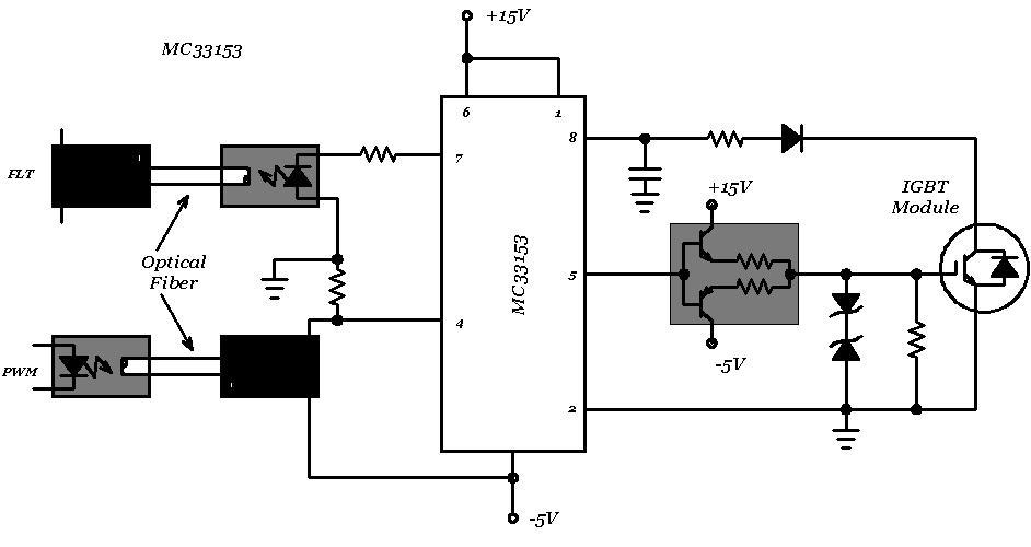 igbt dc motor driver circuit