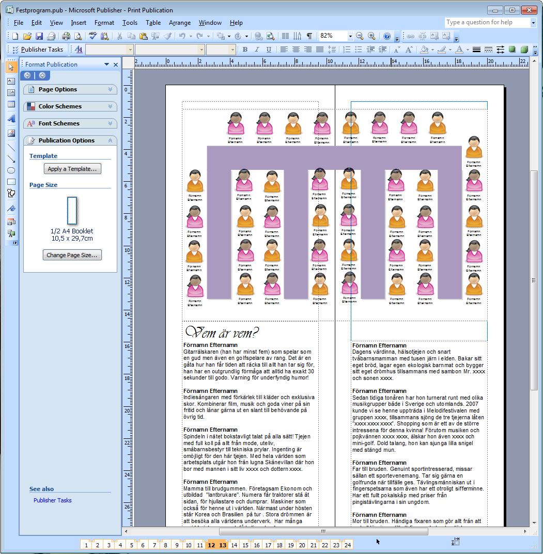 4530b0ccbde4 En förstagångsmammas dagbok: Tillverka festprogram, Microsoft ...