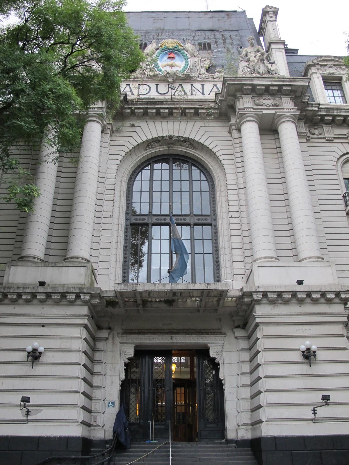 Edificios y Monumentos de Buenos Aires: Aduana de Buenos Aires