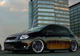2nd virtual car tuning battle toyota auris we are. Black Bedroom Furniture Sets. Home Design Ideas