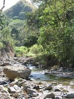 River in Ciudad Colon
