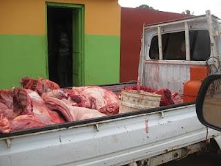 Resultado de imagen para Venta de carne de caballos en mercado fronterizo domínico-haitiano