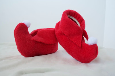Elf Baby Shoes Handmade
