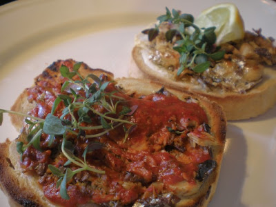 Sardines on Toast - a retro supper from African Vanielje at Vanielje Kitchen blog