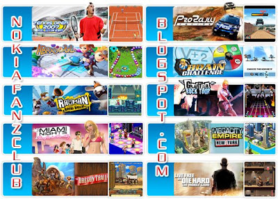 Nokia Fans Club Gameloft Best Rated Games For Nokia Free