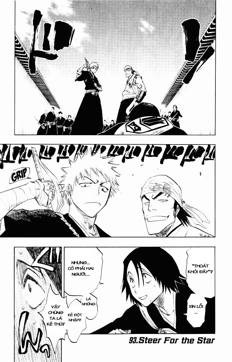Bleach chapter 93 trang 1