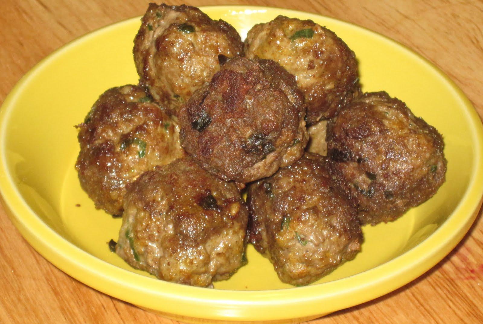 Moroccan Lamb Meatball Tagine Recipe — Dishmaps