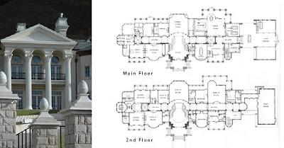 A look at utah mega mansions homes of the rich for Mega house plans