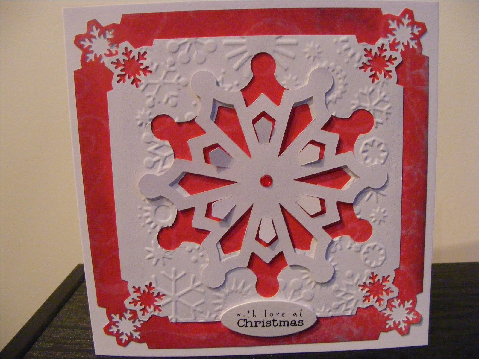 my crafty cupboard here's christmas part 5  cricut cards