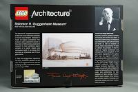 LEGO: 21004 Solomon R. Guggenheim Museum