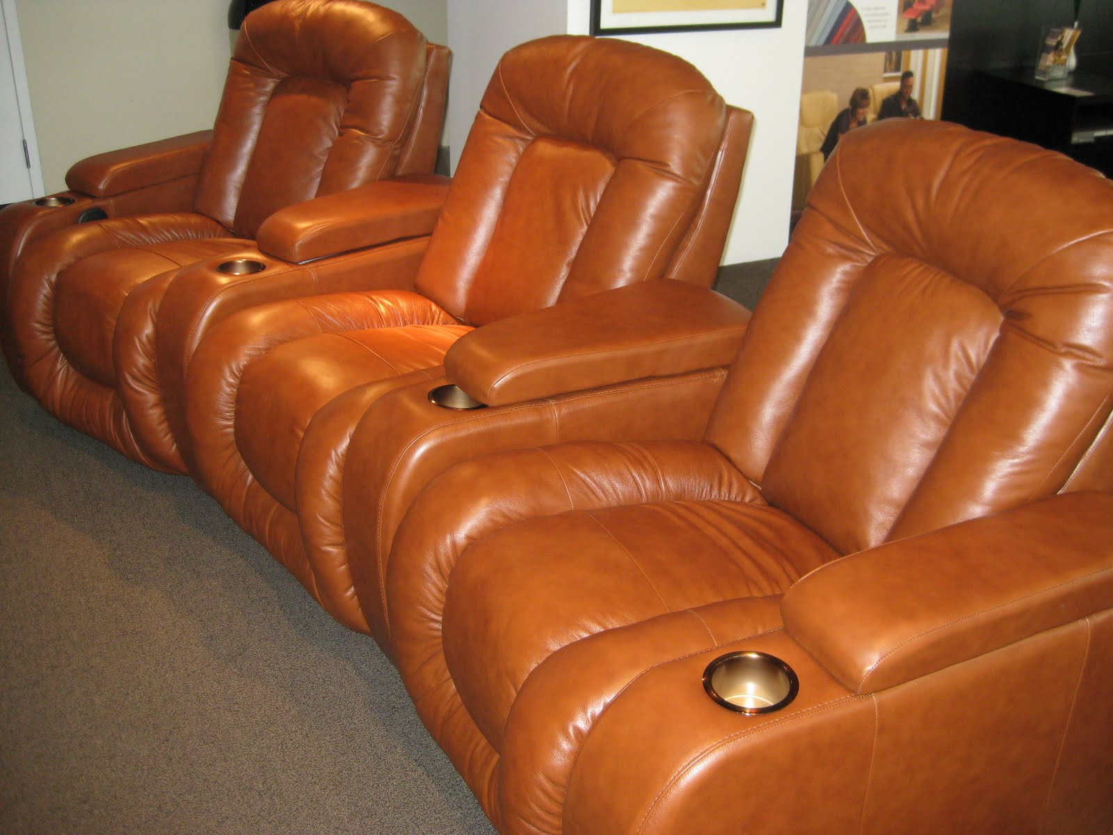 home theater chairs canada revolving chair without arms theaterseatstore the palliser rhumba ultimate comfort