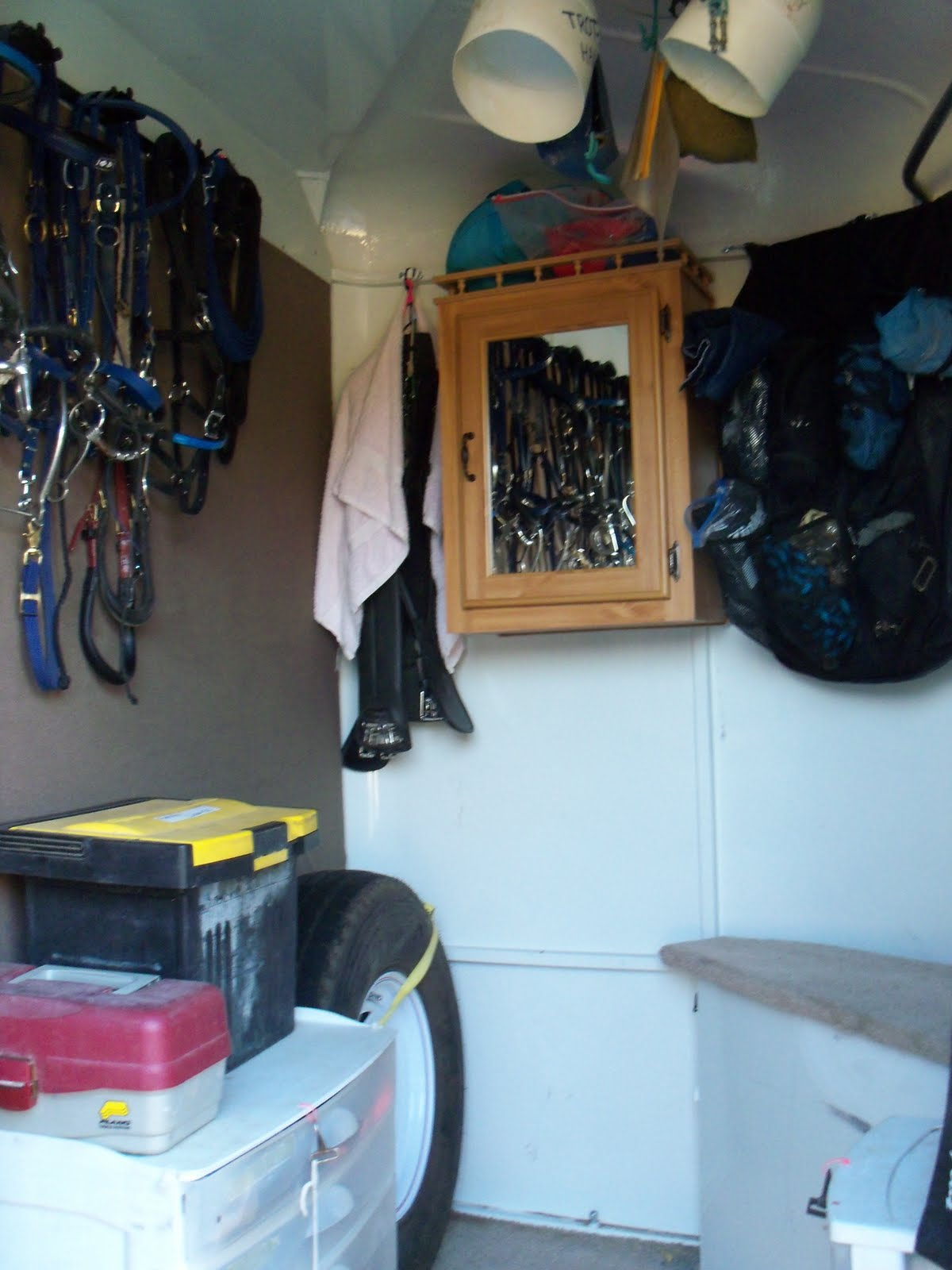 Horse Trailer Organization Ideas  Home Design Ideas