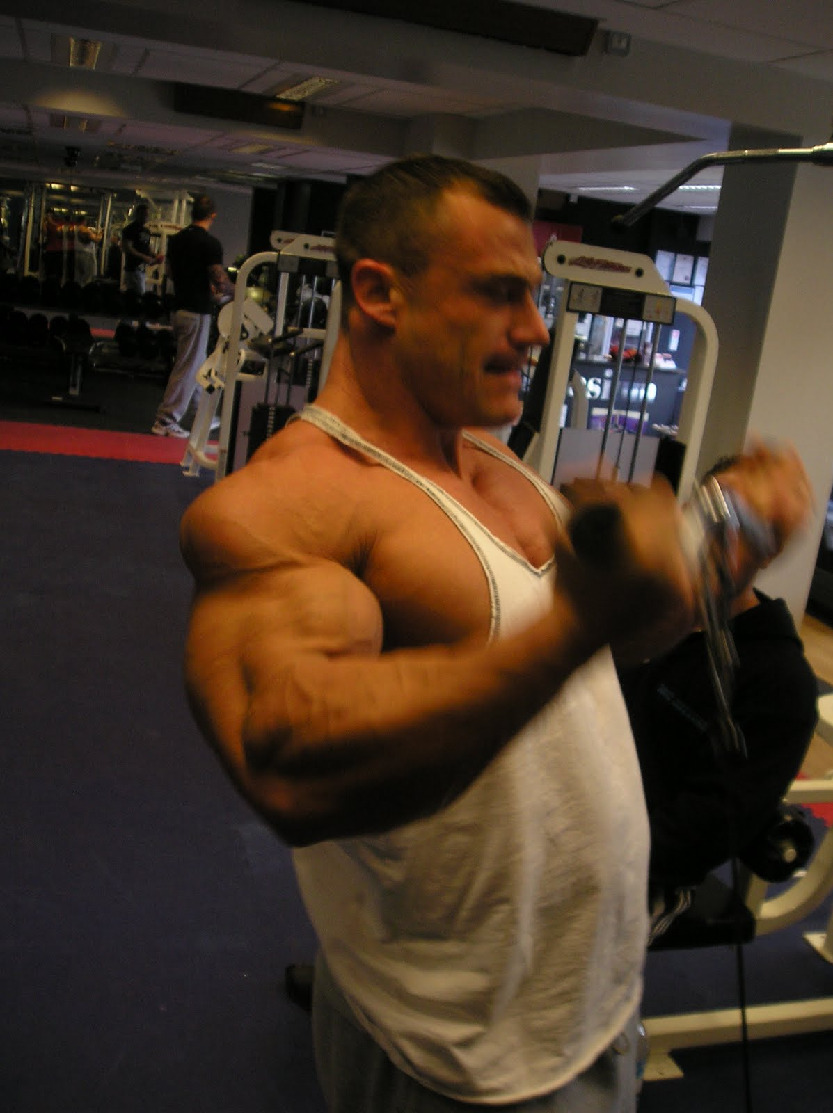 Trojan Nutrition Dave Guest Amp Dan Barry Train Arms At