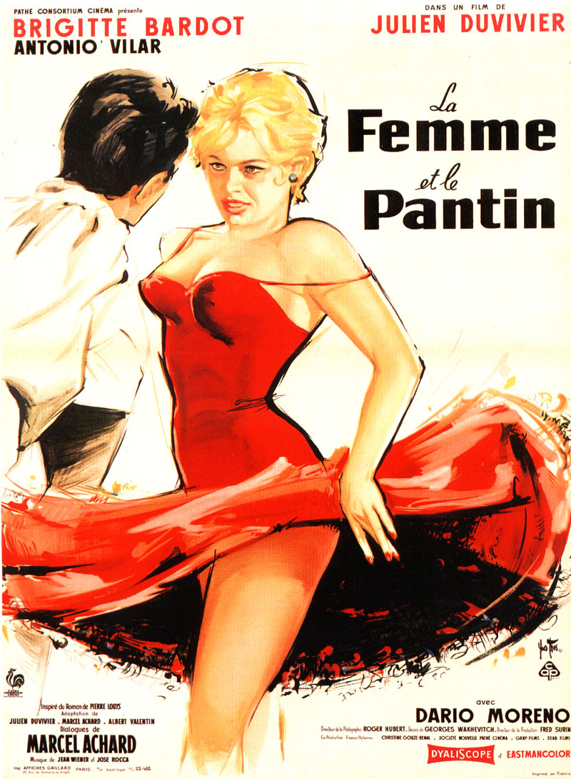 Brigitte Bardot Vintage Posters Vintage Everyday