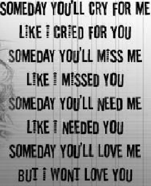Messed Up Life Quotes: My Personal Blog: Someday Poem