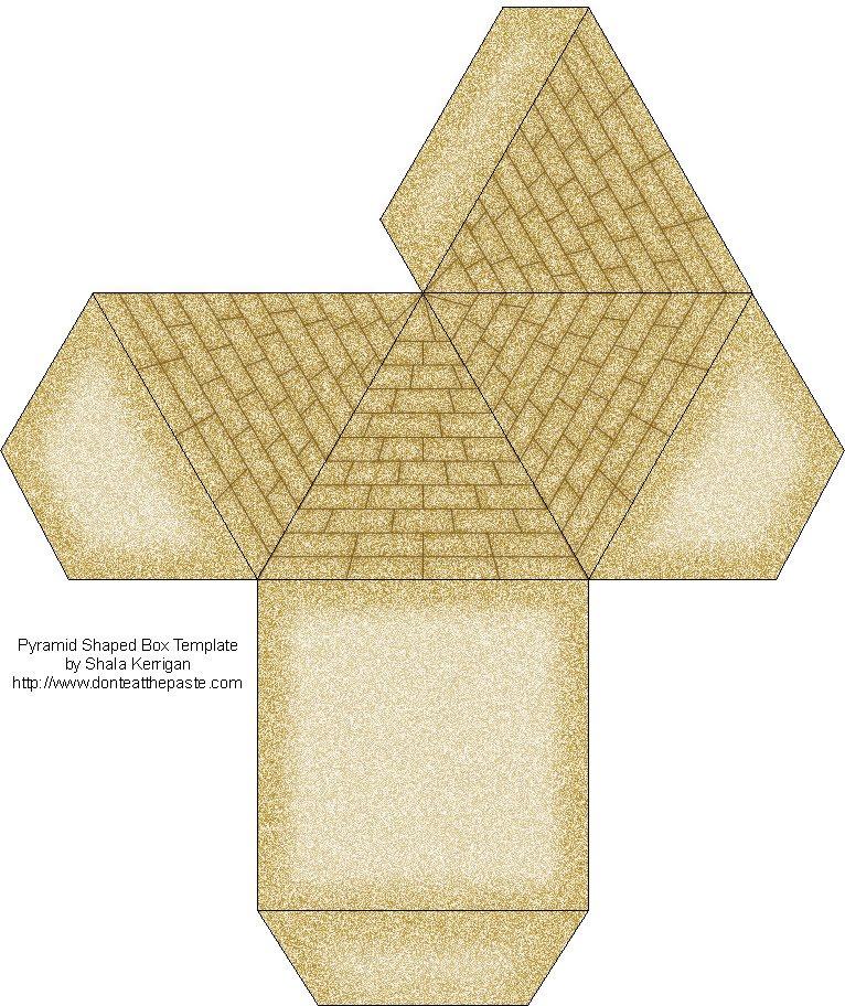 Don\u0027t Eat the Paste Pyramid Box