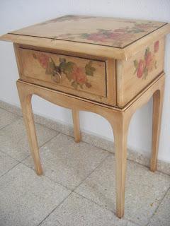Artesania de menorca numar mueble decorado - Muebles decorados a mano ...