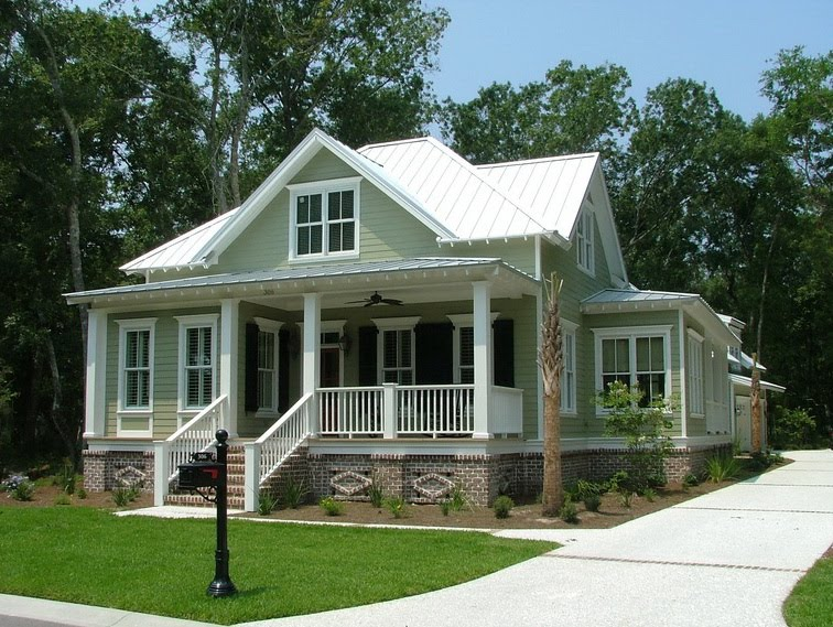 Southern Style Architecture Ideas Home Building Plans